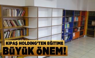 Kipaş Holding'ten eğitime büyük destek!