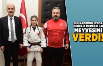 Dulkadiroğlu'nda gençlik merkezi ilk meyvesini verdi!