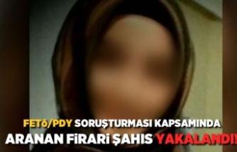 FETÖ/PDY soruşturması kapsamında aranan firari şahıs yakalandı!