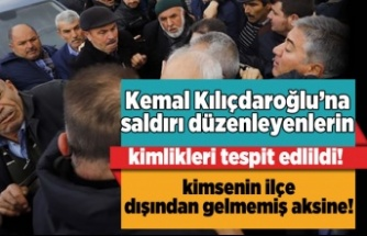 Kılıçdaroğlu'nu darp eden kişinin kimliği tespit edildi!