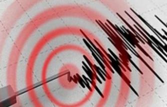 Marmaris'te deprem meydana geldi!