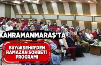 Büyükşehir'den ramazan sohbeti programı