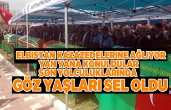 ELBİSTAN KAZAZEDELERİNE AĞLIYOR!