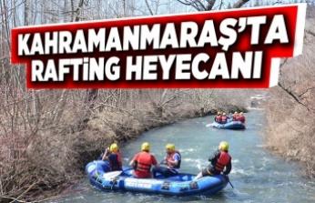 Kahramanmaraş' ta rafting heyecanı!