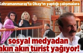 Kahramanmaraş'ta Okay'ın yaptığı çalışmalara sosyal medyadan akın akın turist yağıyor!